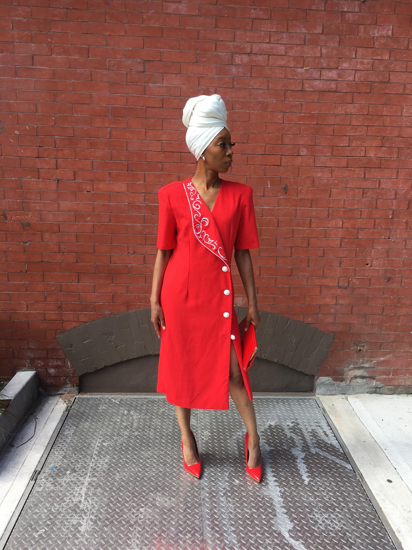 80s Dresses   Casual to Party Dresses Ms. Geraldine Dress $0.00 AT vintagedancer.com