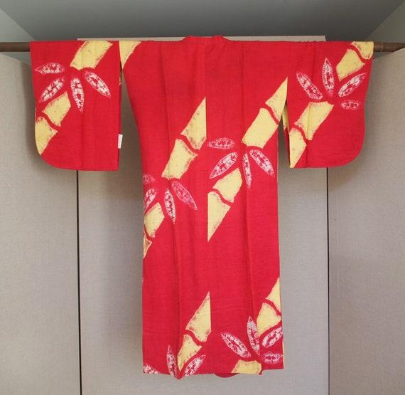 Vintage Michiyuki Raw Silk - image 2