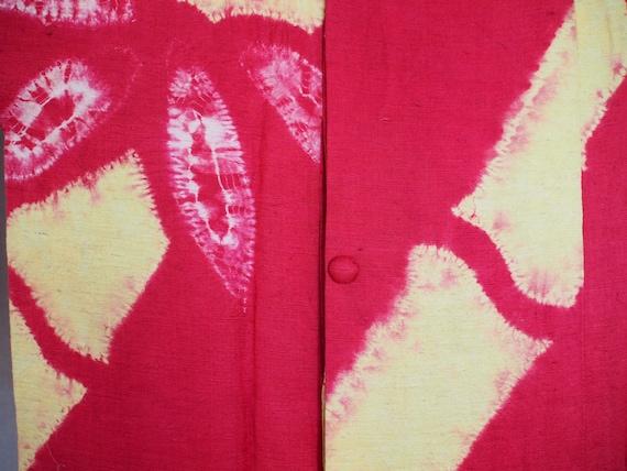 Vintage Michiyuki Raw Silk - image 4