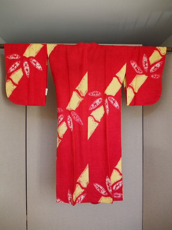 Vintage Michiyuki Raw Silk - image 5