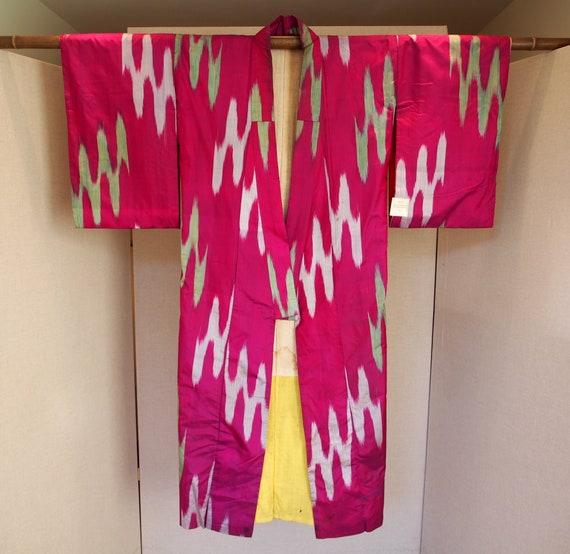 Meisen silk kimono 1920's