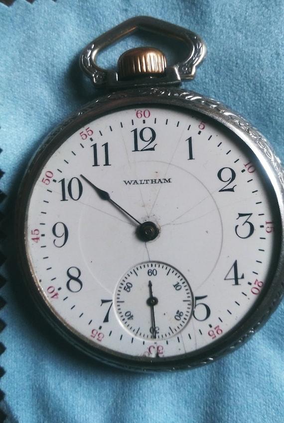 Waltham pocket watch as is