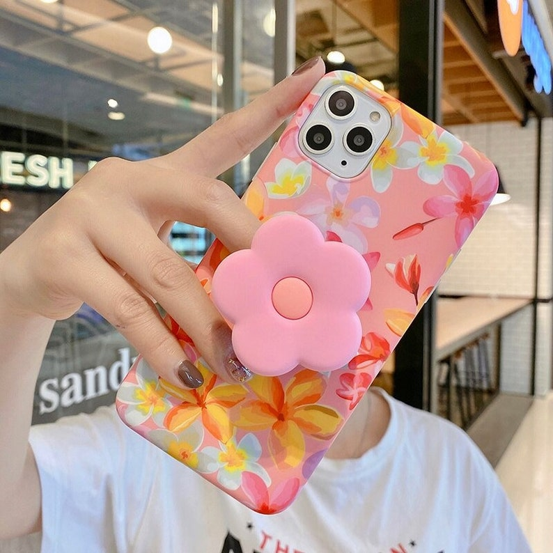 Case For iPhone 11 12 11Pro Max XR XS Max X 7 8 Plus 11Pro SE 2020 Folding Bracket Cover Handmade Case Phone