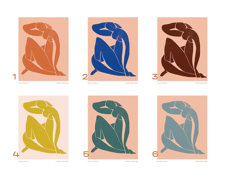 Digital Download / Henri Matisse Blue Nude Poster
