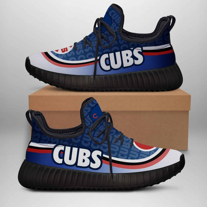 Chicago Cubs Yeezy Boost 350 Shoes