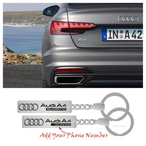 Keychain for car-Stainless steel-Laser engraving-Souvenir for Dad-Mom-Husband-Wife-Boyfriend-Girl-Personalized gift-Exclusive-Trinket