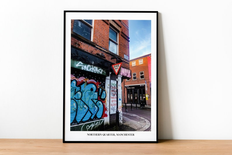 Northern Quarter Manchester Photography Print  Travel image 0