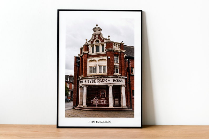 Hyde Park Picture House Leeds Travel Photography Print  image 0
