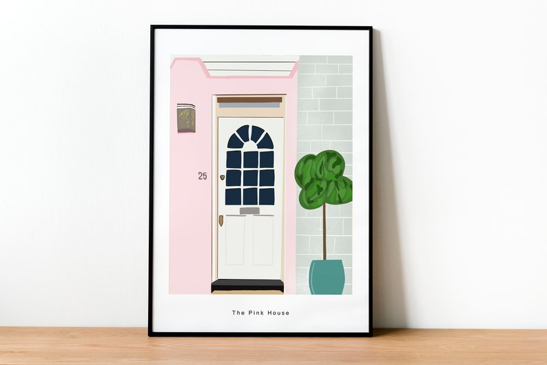Personalised home print / New home print / Unframed print / image 0