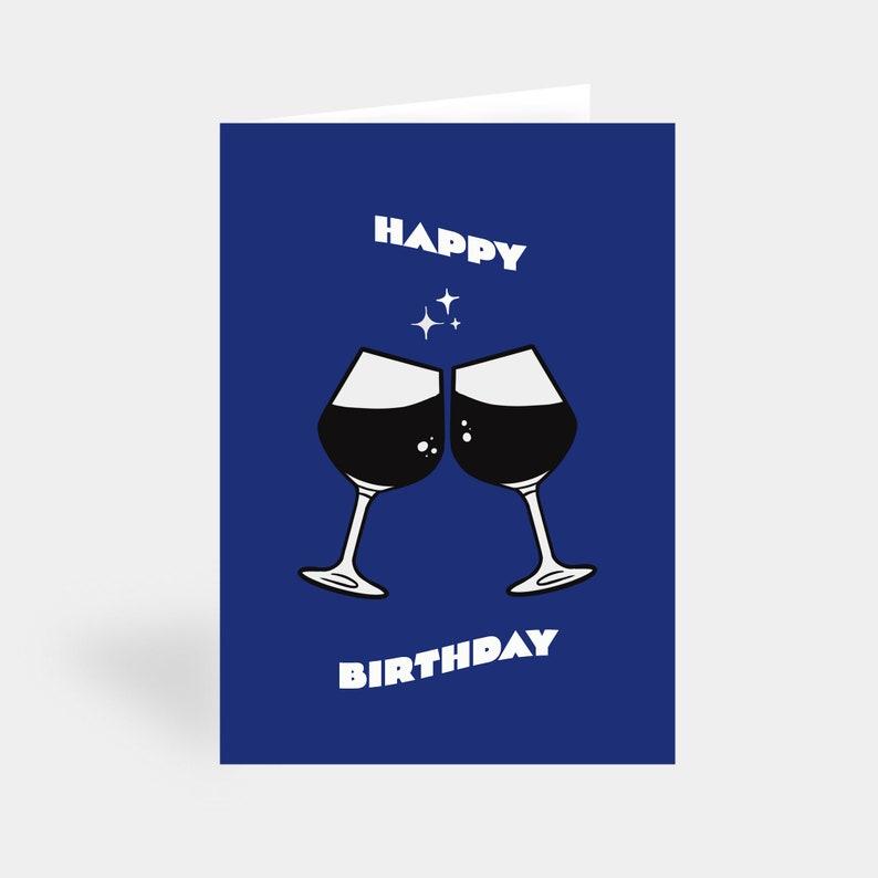 Happy Birthday Card  Birthday Cards  Cheers card  Friend image 0