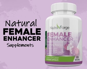 Female Enhancement Hormone Balance for Women Intimacy Mood Support Natural Female PMS & Menopause Relief