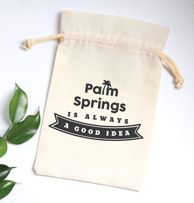 Wedding Thank You Gift Parents of the Bride and Groom Palm springs is always good favor Wedding Favor Spruce Seedling Wedding Favor
