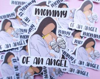 Mommy of an angel sticker / mother / tumblr sticker / desktop sticker / car sticker