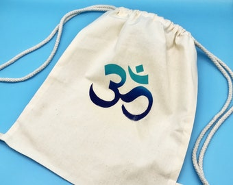 customizable Bio gymnastic bag Love /& Peace acid works Fairtrade Cotton Earth Positive