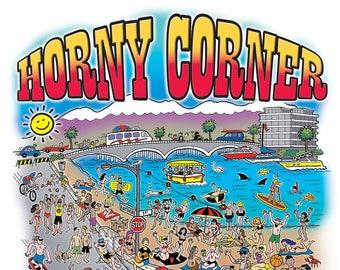 POSTER - Horny Corner (2021 Illustration)