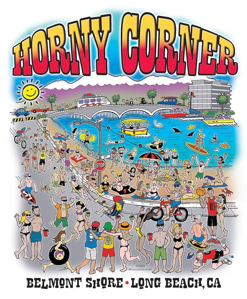 MEN'S T-SHIRT  Horny Corner image 1