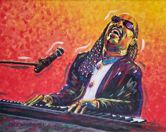 Stevie Wonder Portrait