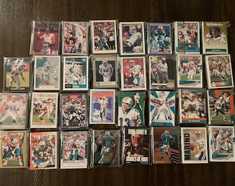Grab Bag of 30 Cards from 1980s-Today Houston Texans Football Cards
