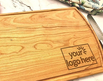 Personalized Engraved Cutting Board   Your Logo   Realtor Gift, Corporate Gift, Company Gift, Client Gift, Employee Gift, Custom Gift   Bulk