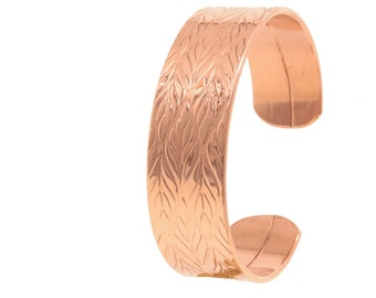 copper bracelet Kent; copper bangle; copper; handmade; hand forged U04