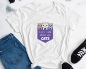 Let 39 s talk about my cats - Women 39 s Fashion Fit T-Shirt Anvil 880