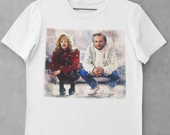 Hollywood Cinema Movie Quand Harry Rencontre Sally.. Meg Ryan T-shirt Billy Crystal