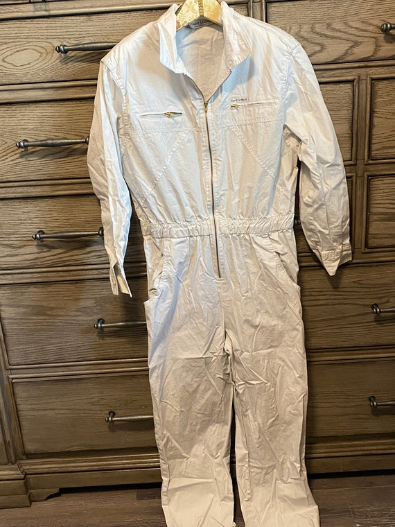 Vintage White Saint Germain Jumpsuit