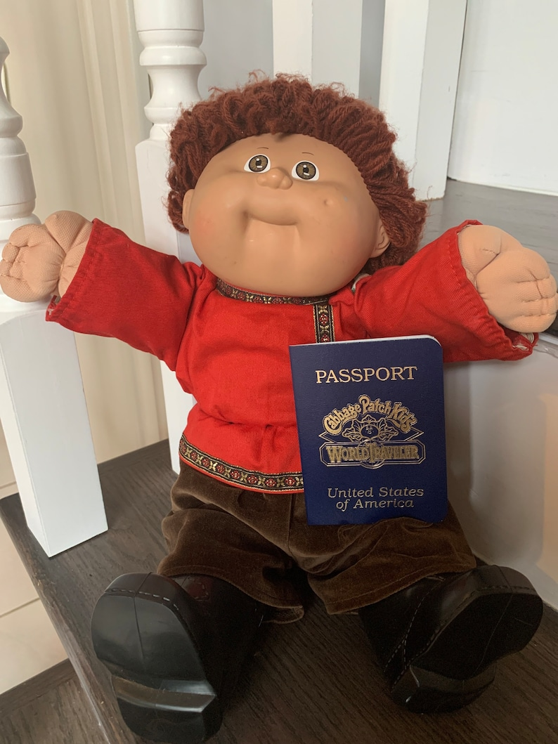 Cabbage patch world traveler