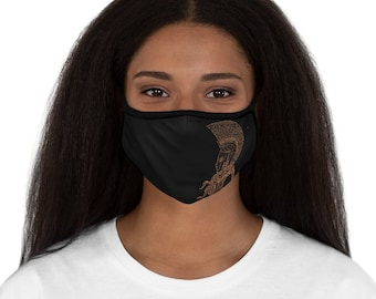 Athena Goddess of War Fabric Face Mask