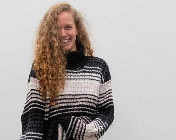 Vintage Rollkragenpullover | Hippie Kleidung | Retro Klamotten | UNISEX