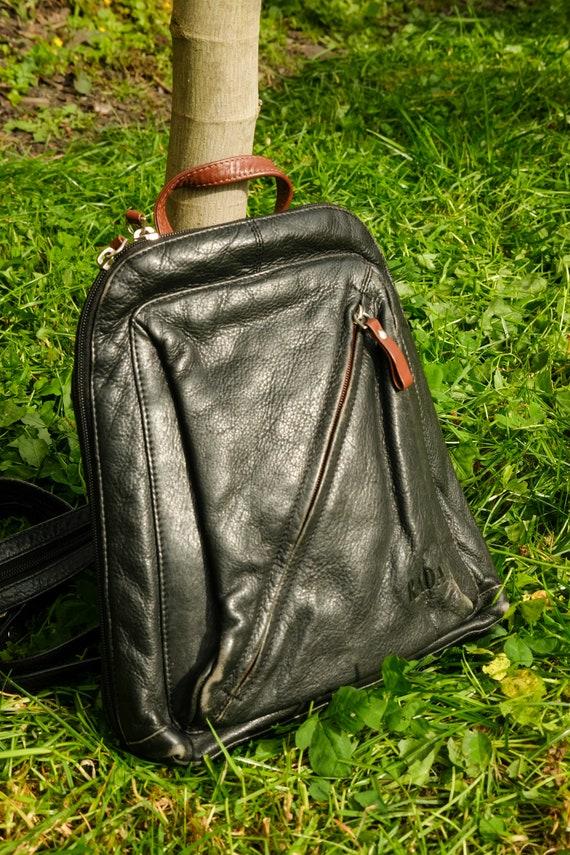 Vintage Lederrucksack   UNISEX