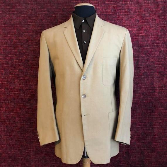 Vintage 1960's Men's Summer Jacket Mod Carnaby Str