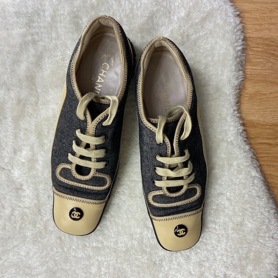 Authentic Chanel Vintage Sneakers