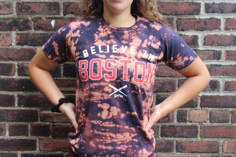 Believe in Boston tee