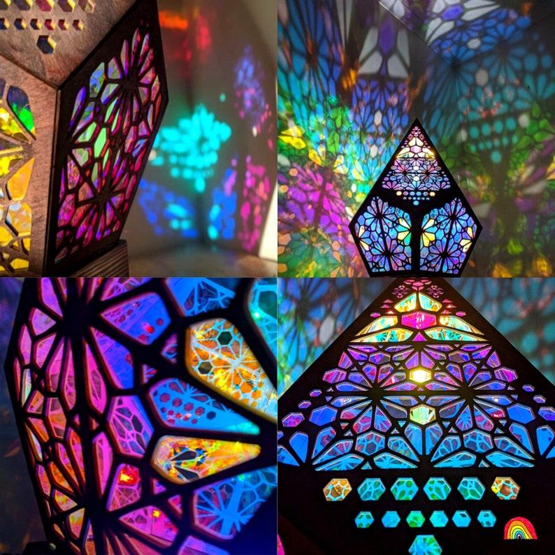 Polar Star Large Floor Lamp LED Projection Bohemian Floor image 9