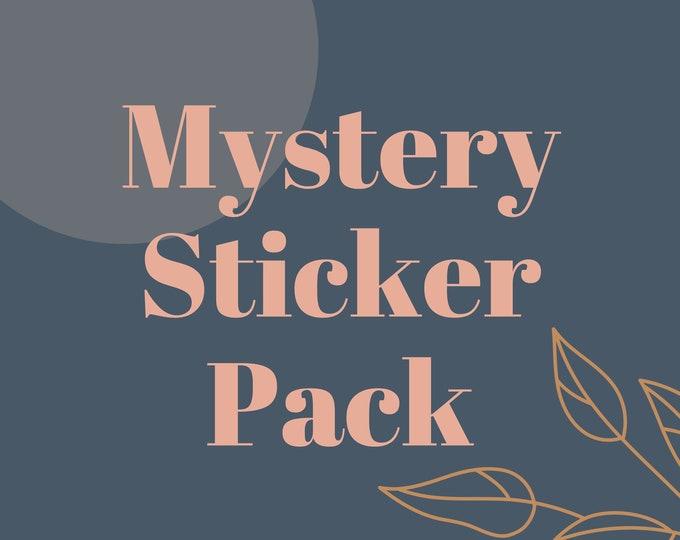 Mystery Sticker Pack, Waterproof sticker pack, Sticker Pack, Waterbottle Stickers, Laptop Stickers, Sticker Bundle