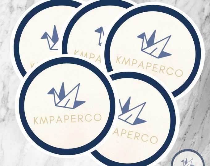 Custom logo sticker, branding stickers, waterproof logo stickers, small business stickers, small business packaging
