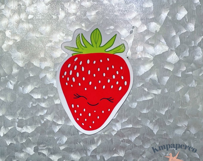 Strawberry Magnet, Strawberry Gifts, Car Magnet, Magnet for Fridge, Magnet Art, Magnet for locker, Birthday gift for her, small gift