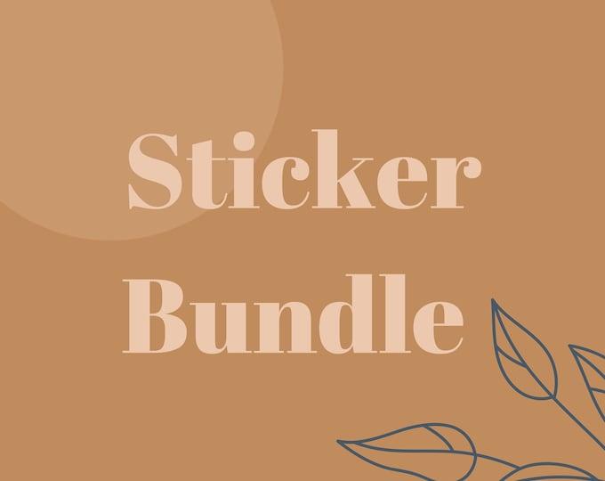 Bundle Sticker, Sticker Set, Bundle Sticker Offer, Discounted Sticker Bundle