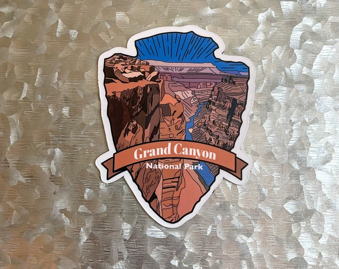 Grand Canyon Magnet, Destination Magnet, Hiker Gift, Car Magnet, Magnet for Fridge, Magnet for locker, Birthday gift for her, small gift,