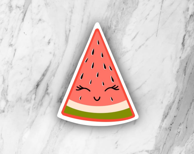 Watermelon Die Cut Sticker