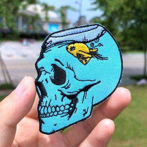 DnD Patches Patch Punk Patches Flower Patches Jackets Custom Patches Patches for Jackets Iron on Patches SKULL Patch