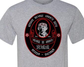 best seller Super soft men/'s -trending on etsy Cobra Kai Miyagi Do Oval Logo T shirt women/'s unisex graphic tshirt
