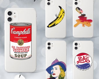 Andy warhol iphone case   Etsy