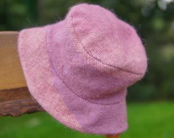 Pink Handwoven Hat