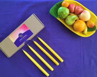 Easter Candles - Pack of 4 - Handmade