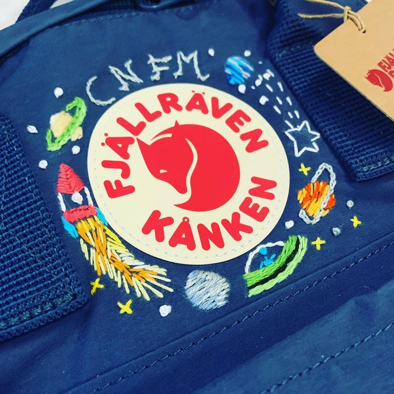 kanken embroidery bag mini Fjallraven