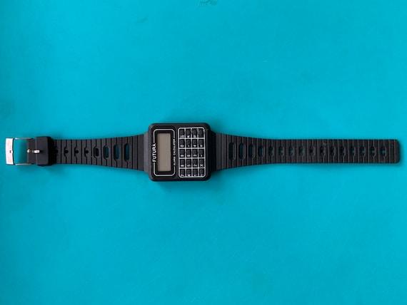 Futura calculator watch