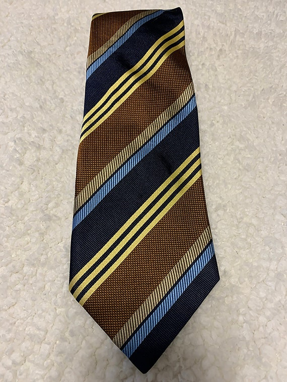 VINTAGE 1970s-80s necktie- corporate