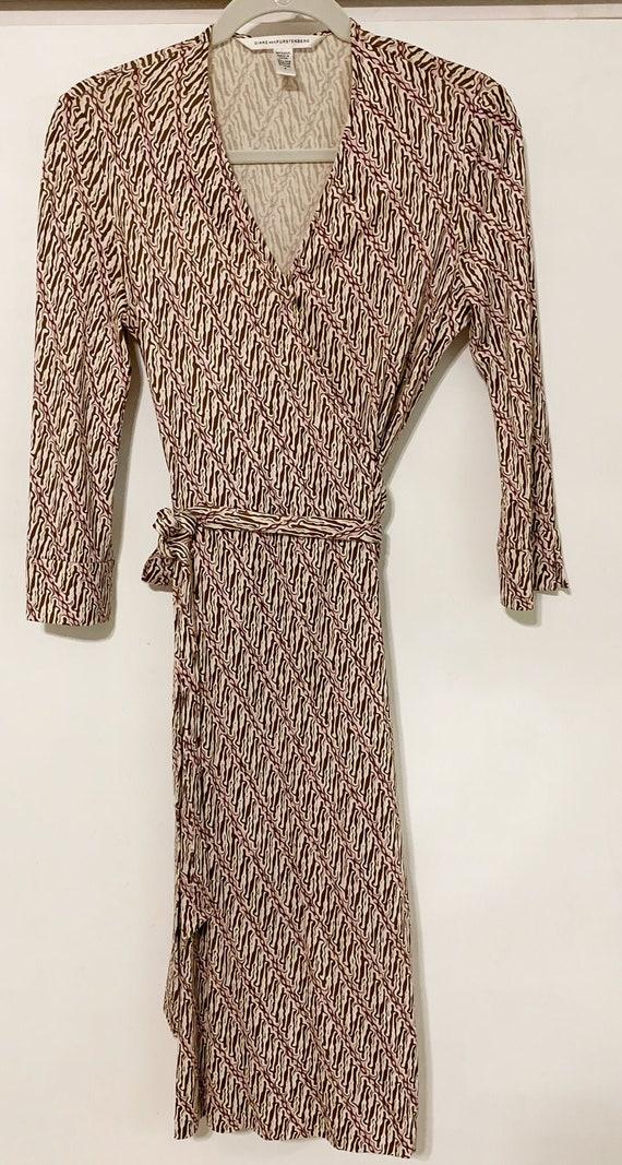 """Diane Von Furstenberg silk jersey wrap dress- """"Jul"""